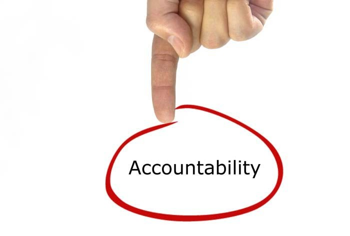 CREATE A CULTURE OF ACCOUNTABILITY
